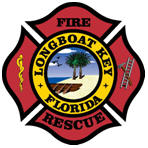 Longboatkey FL Fire Rescue Badge