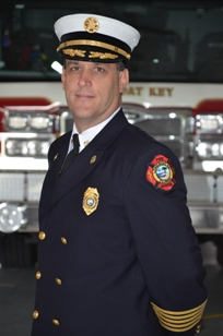 Fire Chief Paul B. Dezzi in uniform
